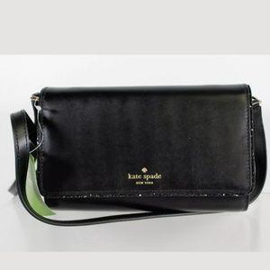 NWT Kate Spade New York Black Crossbody Bag